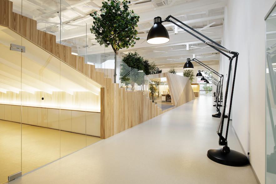 Lenne by kamp arhitektid gestalten for Kantoor interieur ideeen