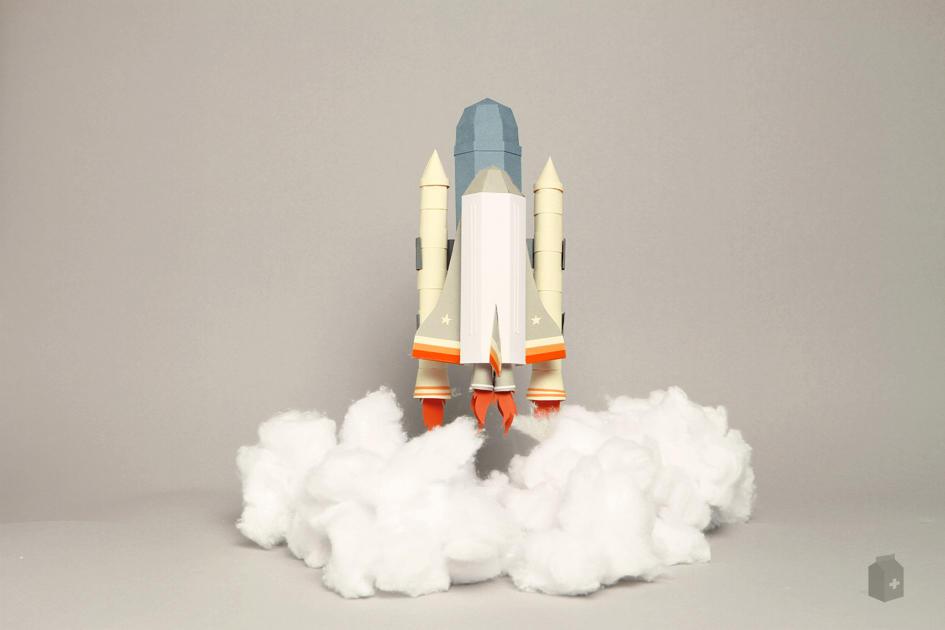 Взлетающая ракета своими руками 29
